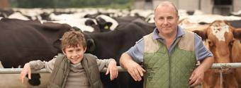 Vet and Producer with Beef Cattle